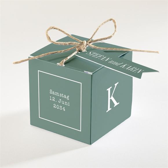 Zuckermandel Schachtel Hochzeit Polaroid der Liebe réf.N340252