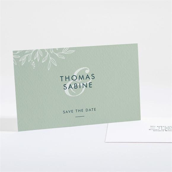 Save the Date Hochzeit Silberne Skizze réf.N161102
