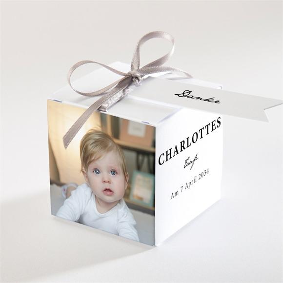 Zuckermandel Schachtel (Taufe) Miniatur Fotos réf.N340246