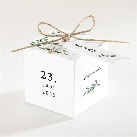 Zuckermandel Schachtel (Taufe) Naturbezogen réf.N340240