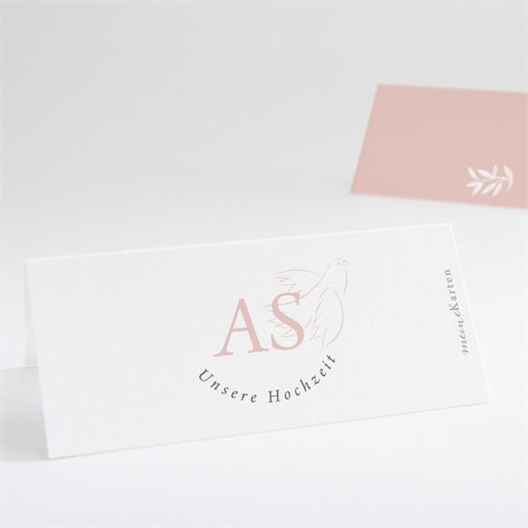 Tischkarte Hochzeit Liebestaube réf.N440745