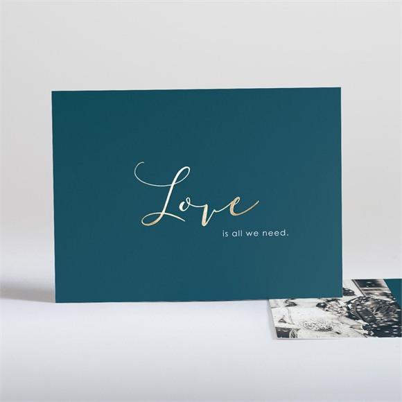 Danksagungskarte Hochzeit Love is all réf.N18130