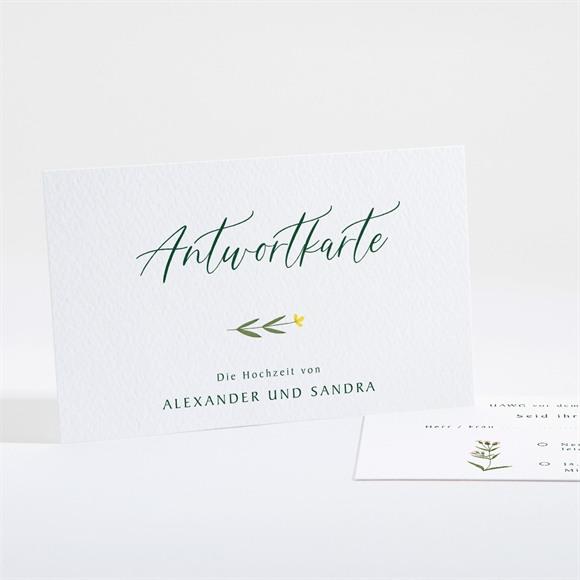Antwortkarte Hochzeit Blumenkreis réf.N161105