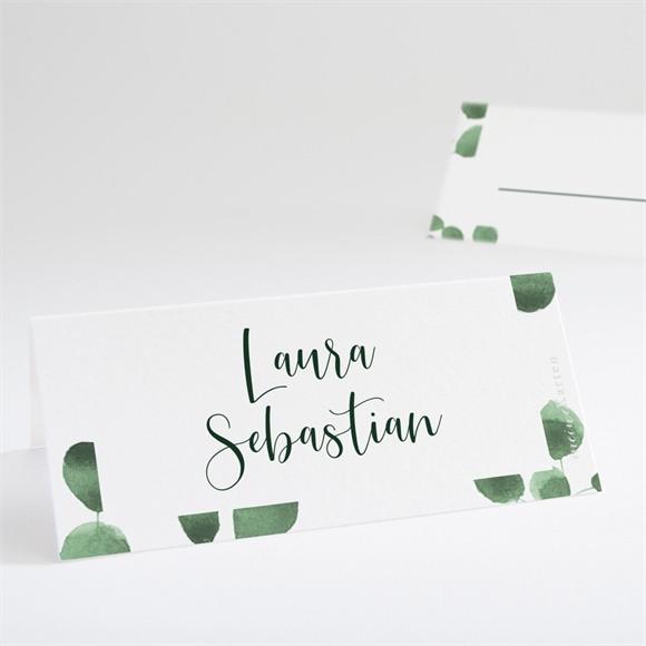 Tischkarte Hochzeit Eukalyptus réf.N440752