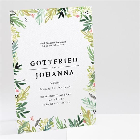 Einladungskarte Hochzeit Blühende Wiese réf.N241202