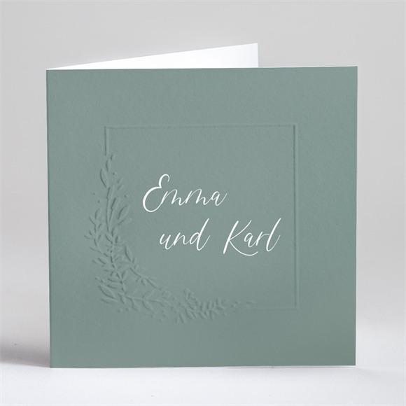 Einladungskarte Hochzeit Poetische Eleganz réf.N451159