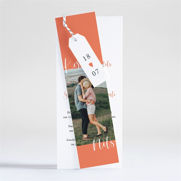 Einladungskarte Hochzeit Liebesfunkeln réf.N93125