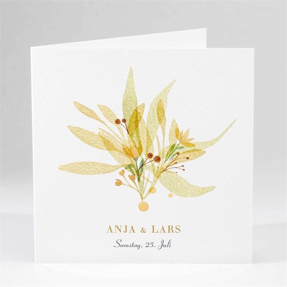 Einladungskarte Hochzeit Herbststrauß réf.N451162