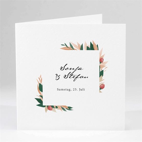 Einladungskarte Hochzeit Herbstliche Harmonie réf.N451163