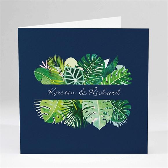 Einladungskarte Hochzeit Tropische Wärme réf.N451168