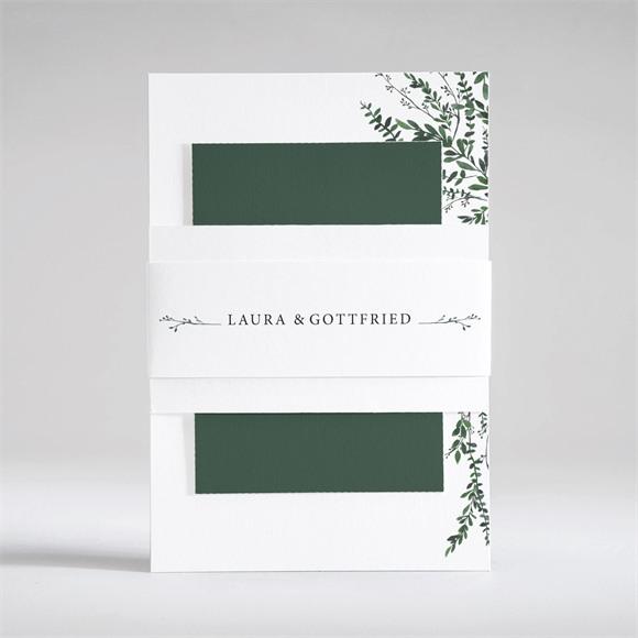 Einladungskarte Hochzeit Waldrand réf.N53104