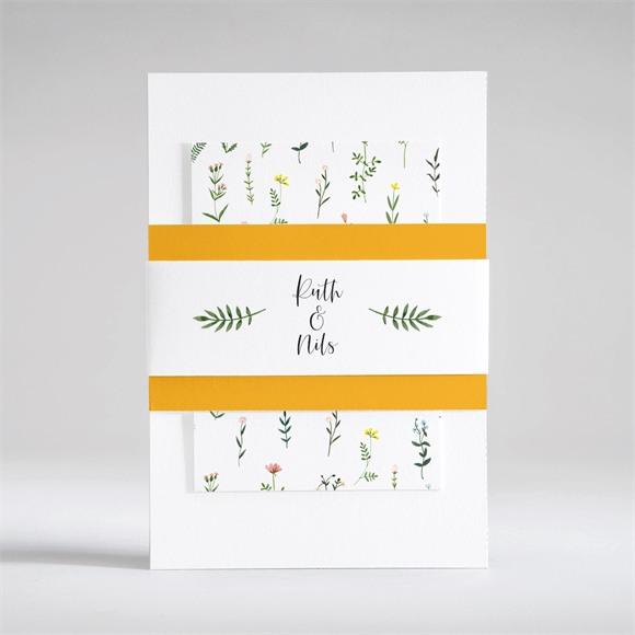 Einladungskarte Hochzeit Frühlingsfreude réf.N53105