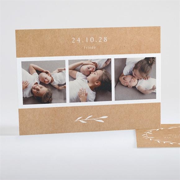 Danksagungskarte Geburt Pretty Envelope réf.N15108