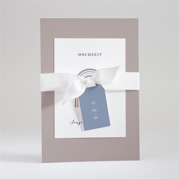 Einladungskarte Hochzeit Triumphbogen réf.N99124