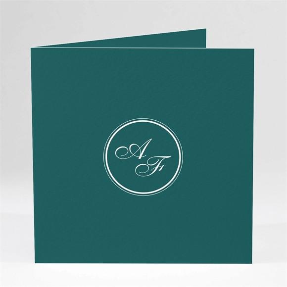 Einladungskarte Hochzeit Klassisches Monogramm réf.N46146