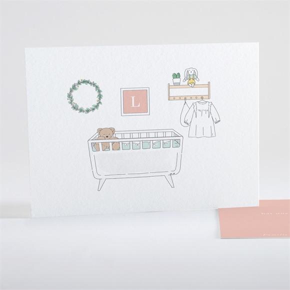 Geburtskarte Ihr Kinderzimmer réf.N15121