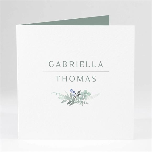 Einladungskarte Hochzeit Aquarell Poesie réf.N46149