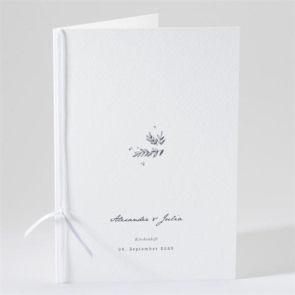 Kirchenheft Hochzeit Laub réf.N491218