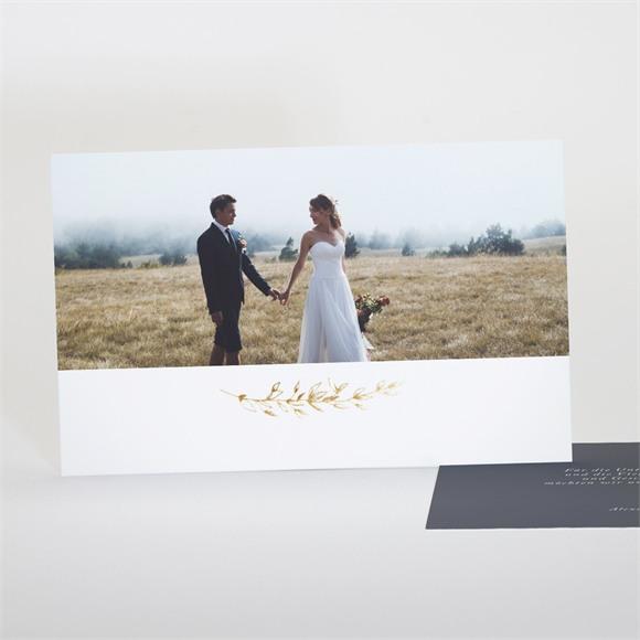 Danksagungskarte Hochzeit Laub réf.N17128