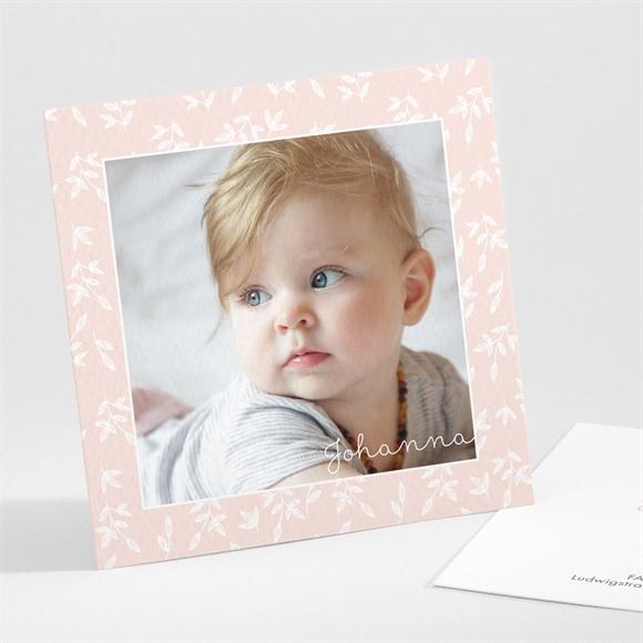 Geburtskarte Einfacher Rahmen und Foto réf.N301250