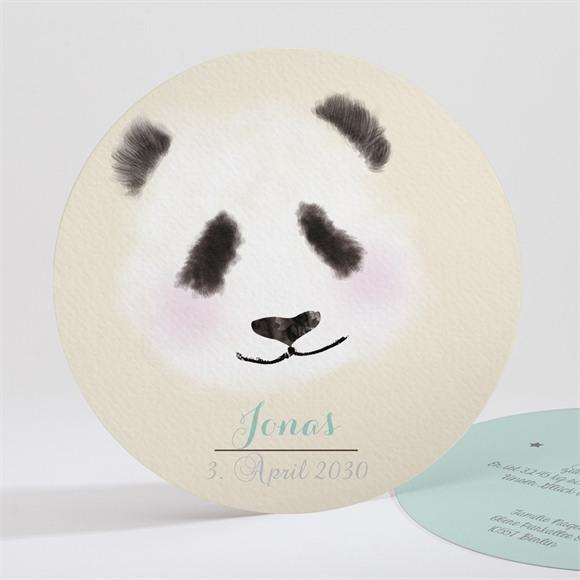 Geburtskarte Kleiner Panda réf.N32116