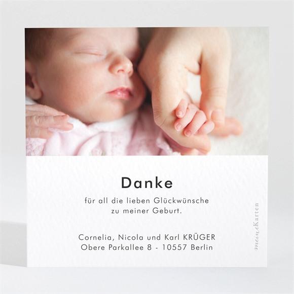 Danksagungskarte Geburt Kleines Nest réf.N3001619