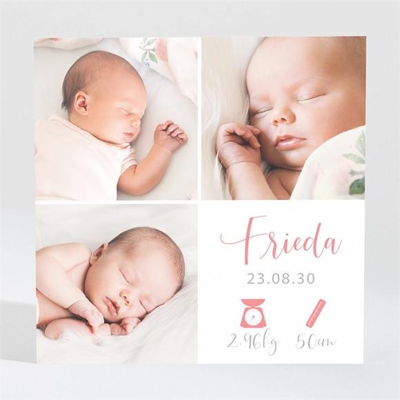Geburtskarte Hübsches Mosaik réf.N3001644