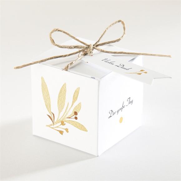 Zuckermandel Schachtel Hochzeit Herbststrauß réf.N340323