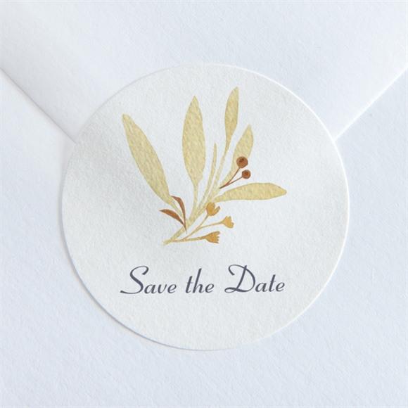 Aufkleber Hochzeit Herbststrauß réf.N360113