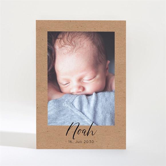 Geburtskarte Kleiner Kraftrahmen réf.N21022