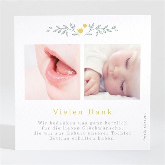 Danksagungskarte Geburt Schöne Ankündigung réf.N3001616