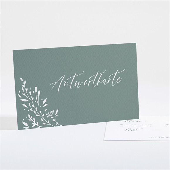 Antwortkarte Hochzeit Poetisch & Elegant réf.N161114