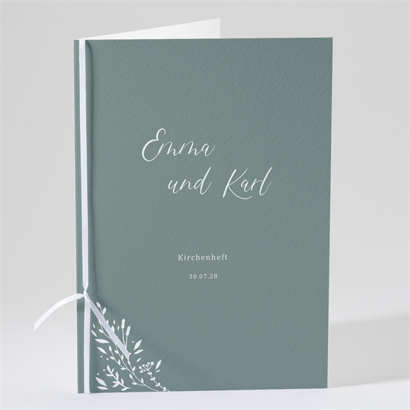 Kirchenheft Hochzeit Poetisch & Elegant réf.N491197