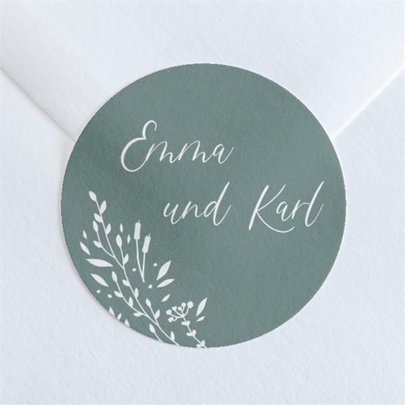 Aufkleber Hochzeit Poetisch & Elegant réf.N36060