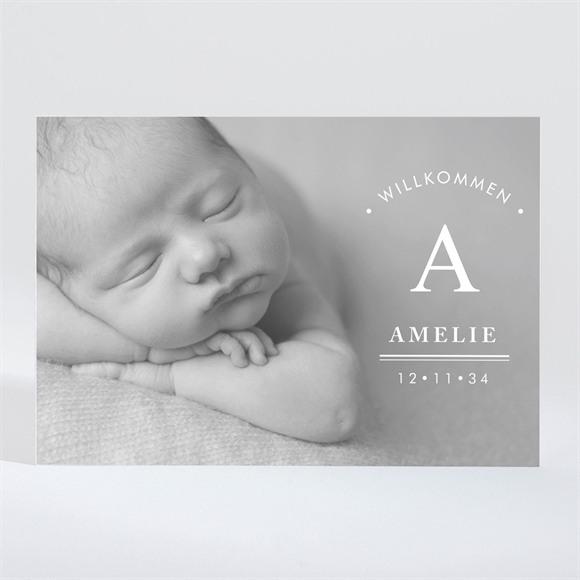 Geburtskarte Unschuld réf.N11026