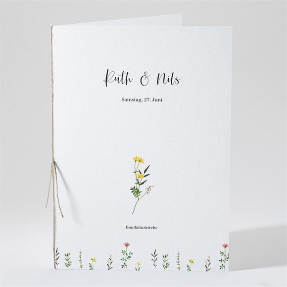 Kirchenheft Hochzeit Frühlingsfreude réf.N491202