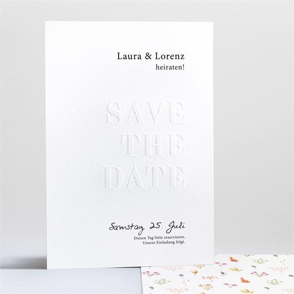 Save the Date Hochzeit Frühlingstanz réf.N241218