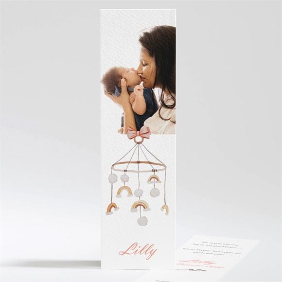 Geburtskarte Schönes kleines Mobile réf.N201232