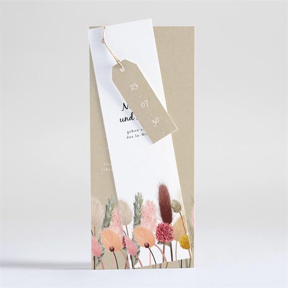 Einladungskarte Hochzeit Unser Feldblumenstrauß réf.N93132