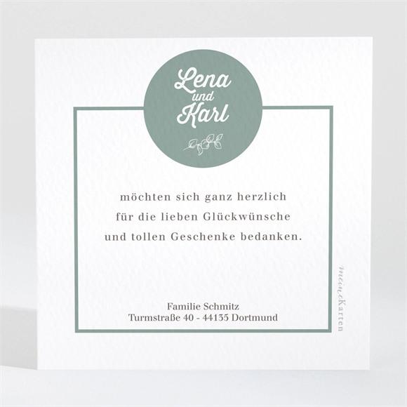 Danksagungskarte Geburt Fröhliches Mosaik réf.N3001642
