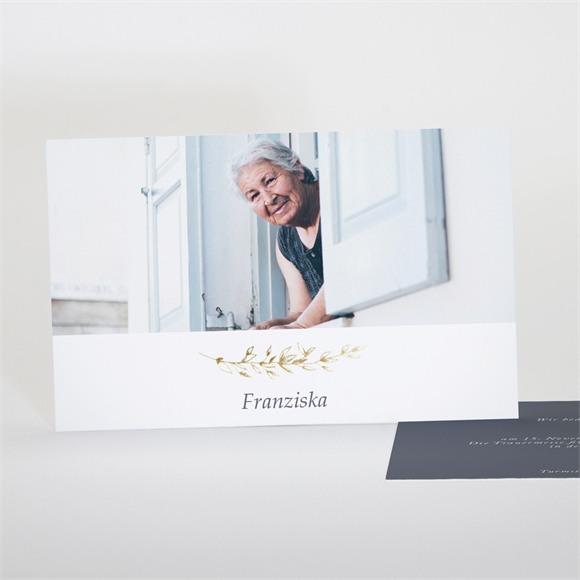 Trauerkarten Schöne Nostalgie réf.N17129