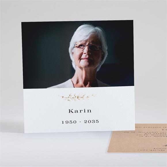 Trauerkarten In Erinnerung réf.N351140