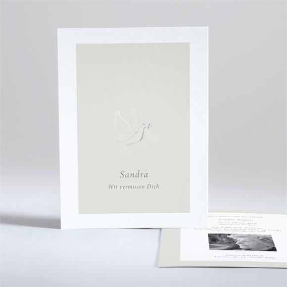 Trauerkarten Taube der Hoffnung réf.N28124