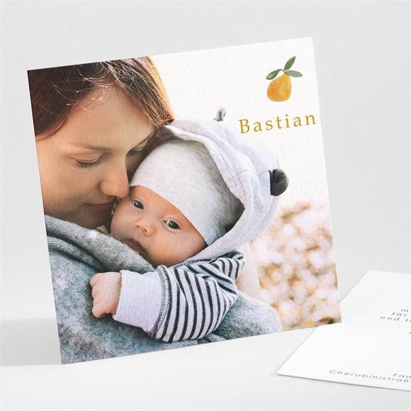 Danksagungskarte Geburt Fruchtig réf.N301282