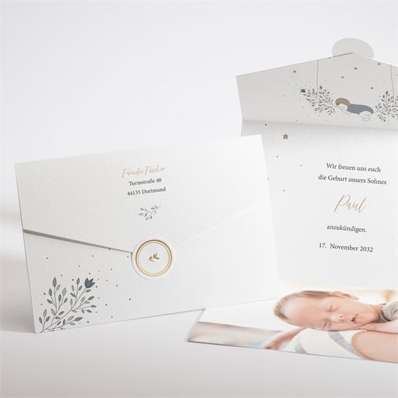 Geburtskarte Traum réf.N97124