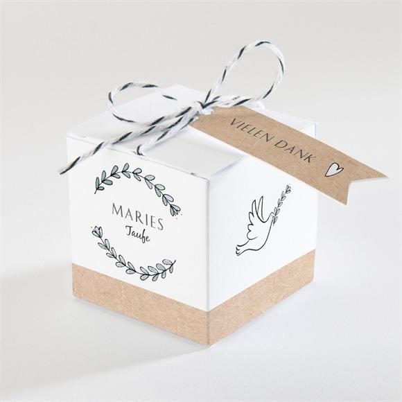 Zuckermandel Schachtel (Taufe) Kleines Programm réf.N340337