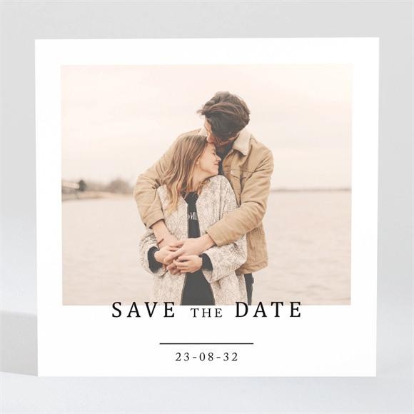 Save the Date Hochzeit Vor dem Objektiv réf.N3001656