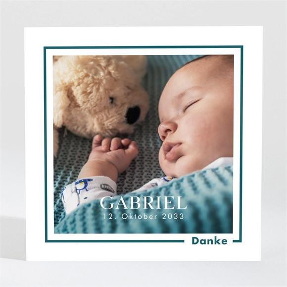Danksagungskarte Geburt Sein kleines Bild réf.N3001680