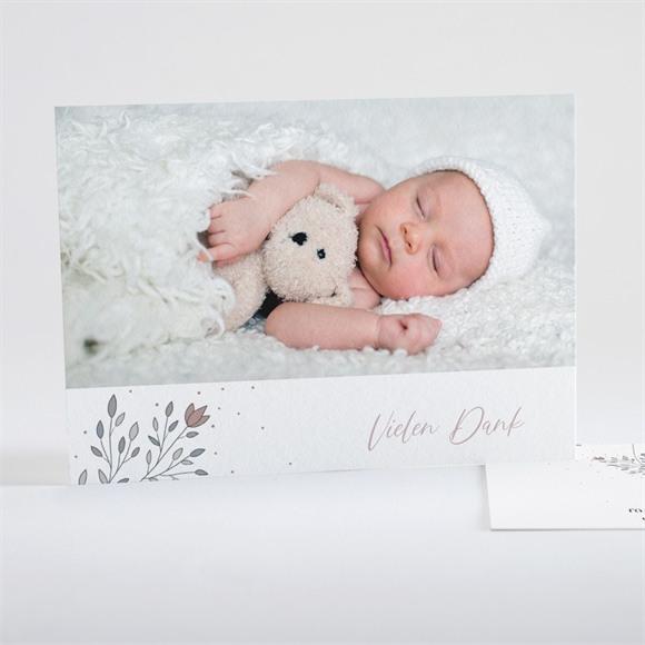 Danksagungskarte Geburt Augenzwinkern réf.N15128