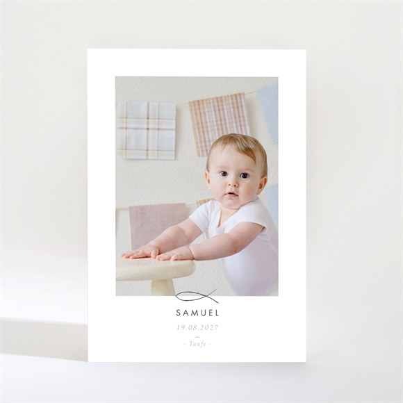 Einladungskarte Taufe Schöne Seele - Magnet réf.N21037